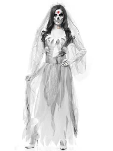 Halloween Horror Ghost Bride Zombie Costume Bar Masquerade Costume