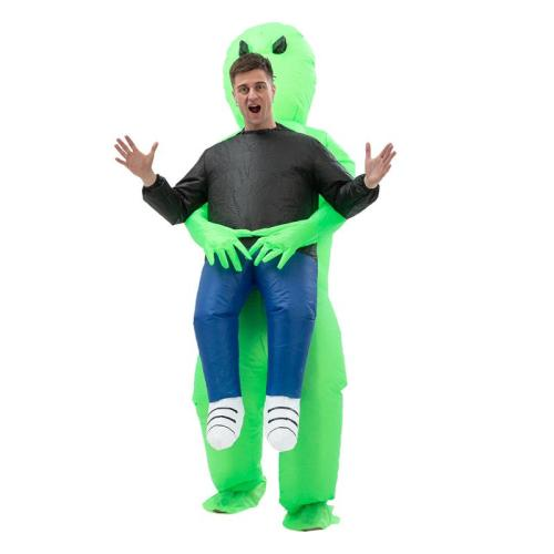 Halloween Alien Inflatable Costume For Adults and Kids