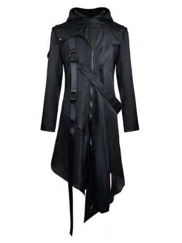 Personalized Gothic Halloween Costume With Plague Doctor Mask