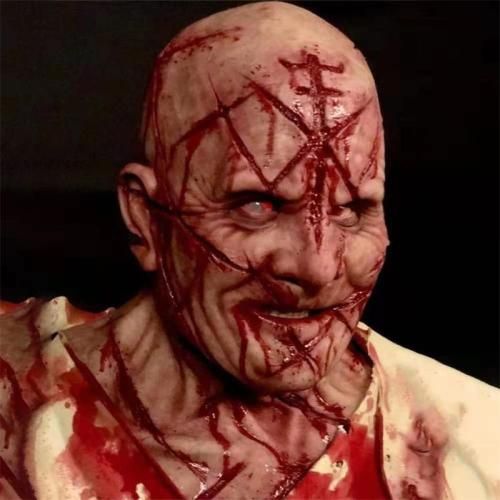 Creepy Halloween Smiling Demons Mask Evil Cosplay Props Scary Mask