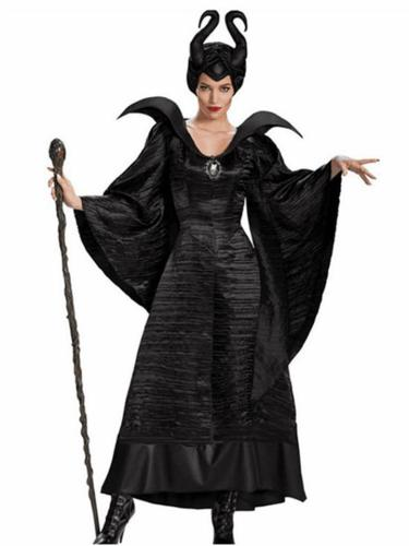 Women's Cool Black Witch Costume Halloween Costume