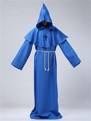 Halloween Wizard Clothing Priest Clothing Christian Costume Party Props