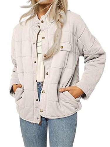 Stylish Lightweight Casual Solid Color Long Sleeve Coat With Pockets