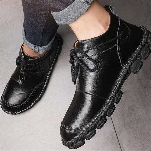 Men's Casual Simple Style Solid Color Cozy Lightweight Loafers