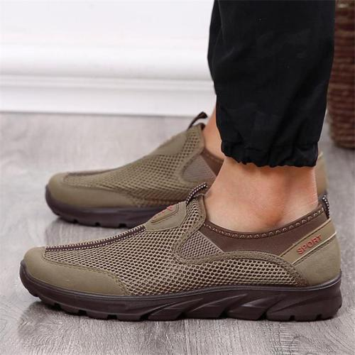 Casual Breathable Soft-Soled Lightweight Non-Slip Solid Color Loafers