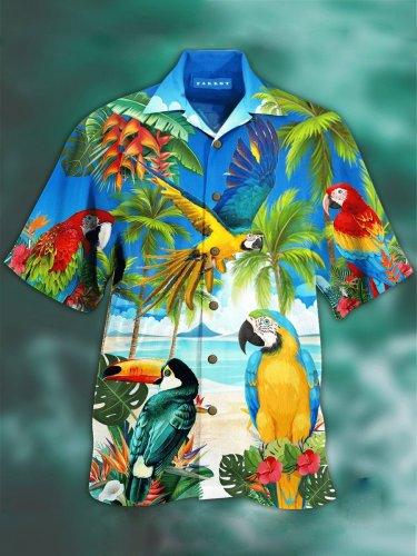 Parrot Hawaiian Shirt