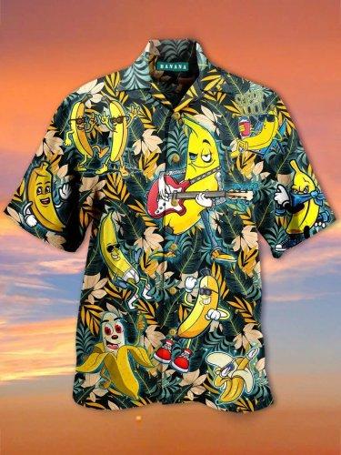 Funny banana Hawaiian Shirt
