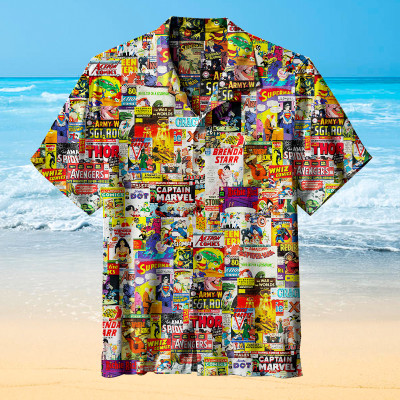 Those Classic Comic Magazines | Hawaiian Shirt