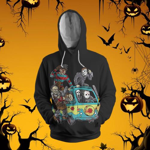 Classic Horror Movie Characters | Hoodie