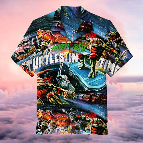Classic Cartoon Collage Art   Hawaiian shirt