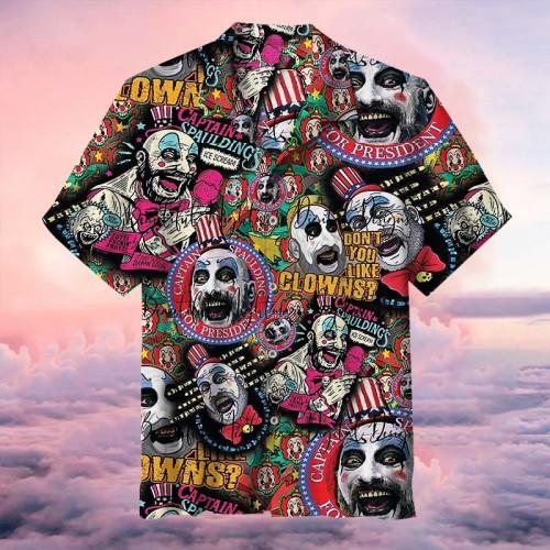 Captain Graffiti Art   Hawaiian Shirt