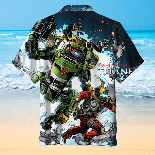 Titanfall   Hawaiian Shirt