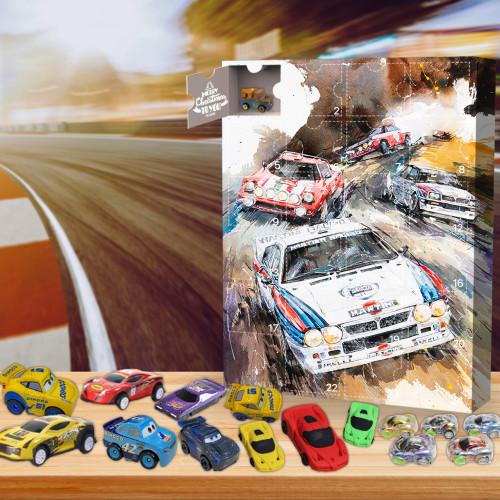 2021 Racing car Advent Calendar -- The One With 24 Little Doors