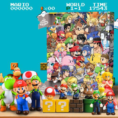 Mario Advent Calendar -- The One With 24 Little Doors