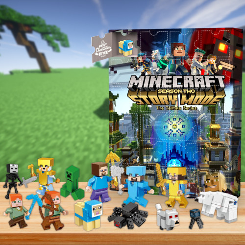 Minecraft Advent Calendar -- The One With 24 Little Doors