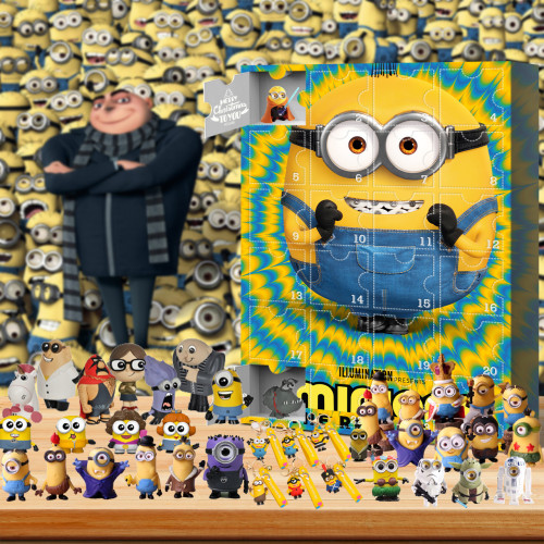 Despicable Me Advent Calendar -- The One With 24 Little Doors