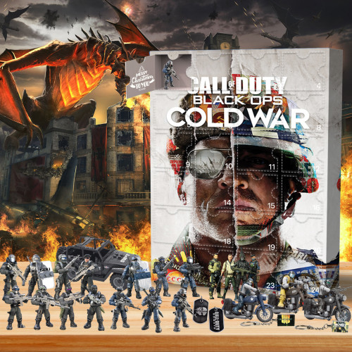 Call of Duty Advent Calendar -- The One With 24 Little Doors