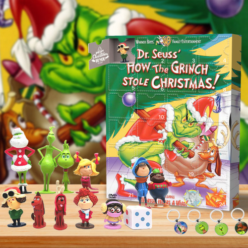 The Grinch Advent Calendar -- The One With 24 Little Doors