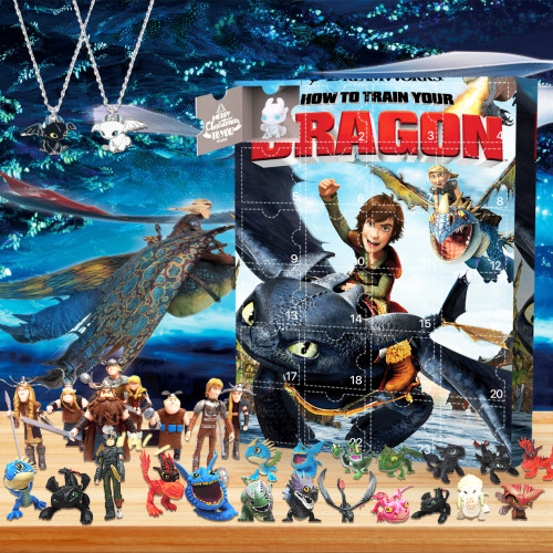 How to Train Your Dragon Advent Calendar -- The One With 24 Little Doors