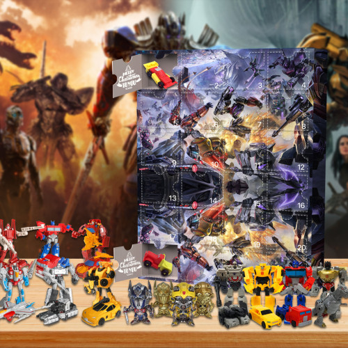 Autobot  Advent Calendar -- The One With 24 Little Doors