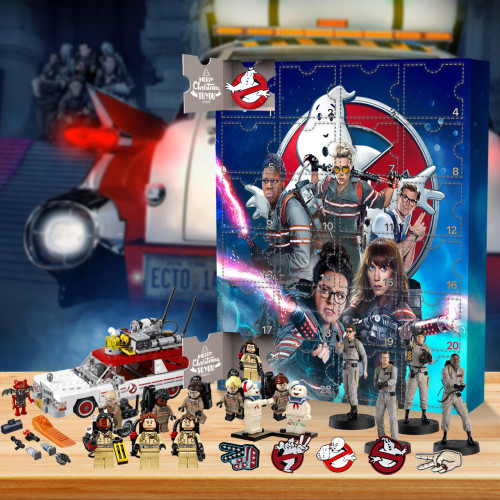 The Real Ghostbusters Advent Calendar -- The One With 24 Little Doors