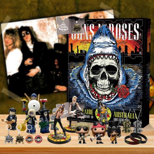 Hard rock   Guns N' Roses Advent Calendar -- The One With 24 Little Doors