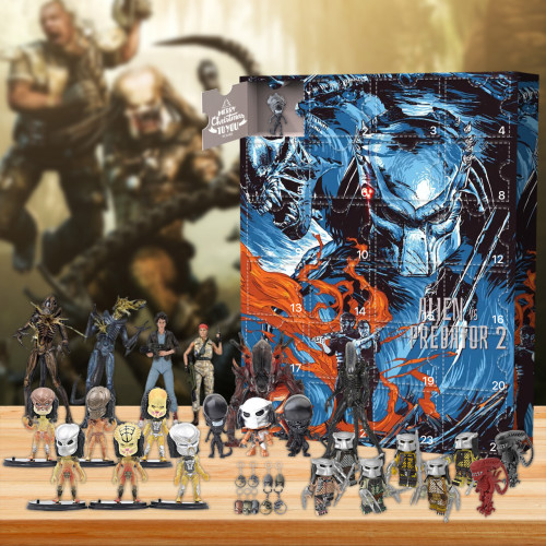 Alien vs. Predator  Advent Calendar -- The One With 24 Little Doors