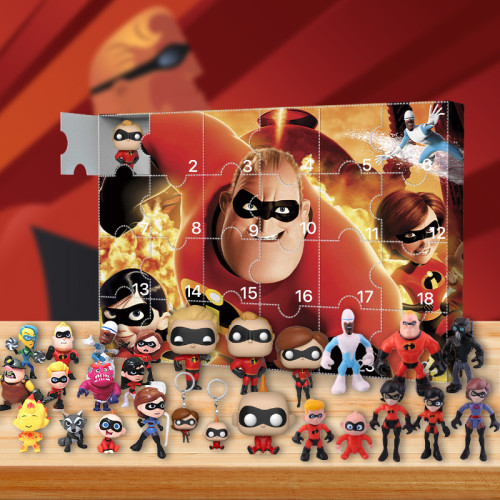 The Incredibles Advent Calendar -- The One With 24 Little Doors