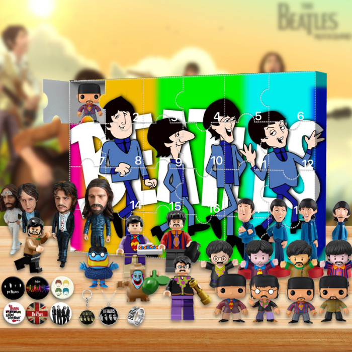 The Beatles Advent Calendar -- The One With 24 Little Doors