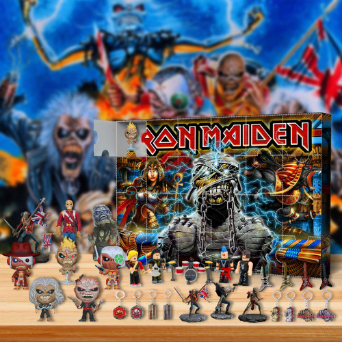 Iron Maiden Advent Calendar -- The One With 24 Little Doors
