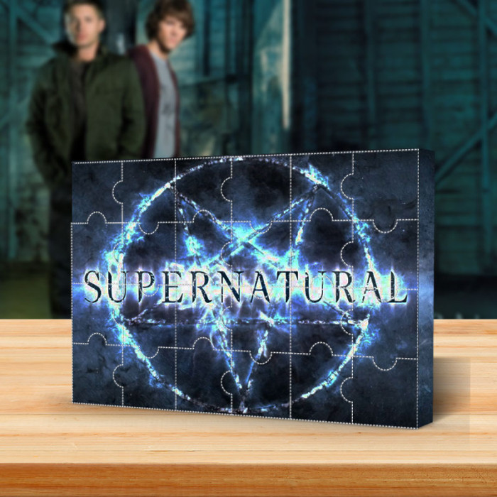 Supernatural Advent Calendar -- The One With 24 Little Doors