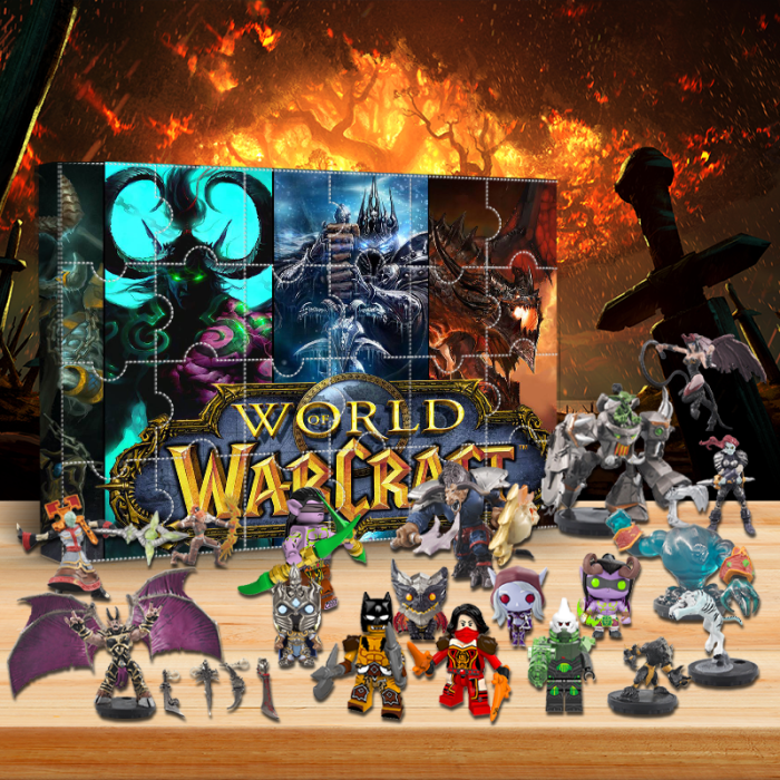 World of Warcraft Advent Calendar -- The One With 24 Little Doors
