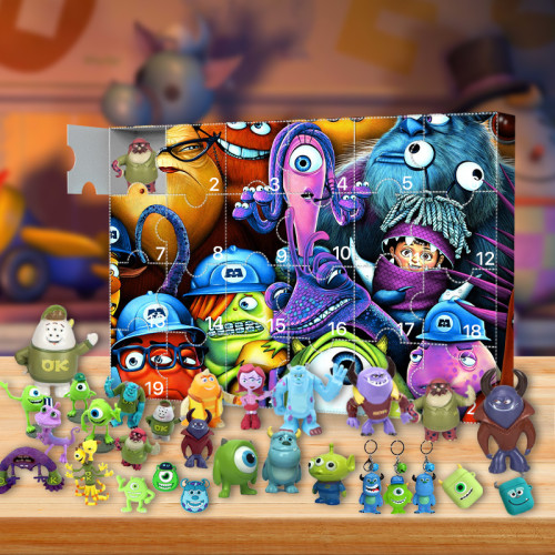Monsters, Inc. Advent Calendar -- The One With 24 Little Doors