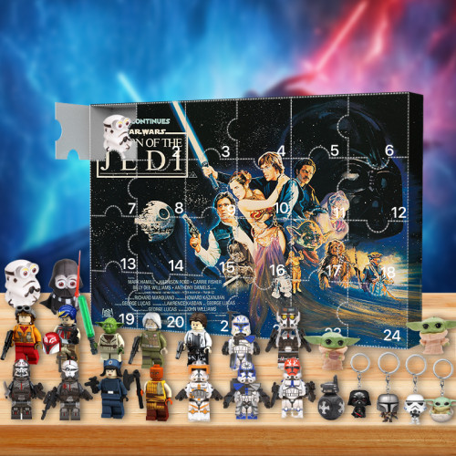 Star Wars Advent Calendar -- The One With 24 Little Doors