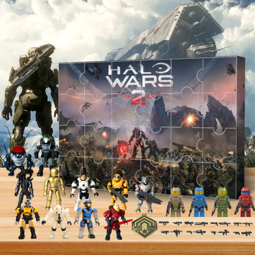 Halo Advent Calendar -- The One With 24 Little Doors