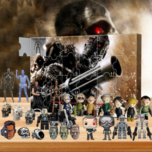 The Terminator Advent Calendar -- The One With 24 Little Doors