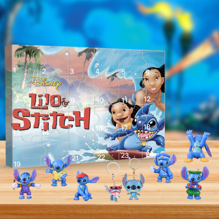 Lilo & Stitch Advent Calendar -- The One With 24 Little Doors