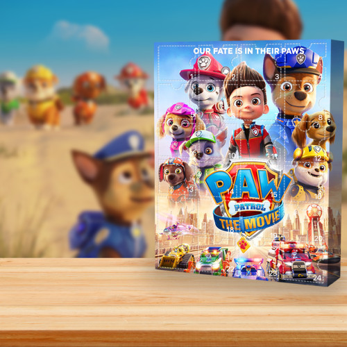 Paw Patrol Advent Calendar -- The One With 24 Little Doors
