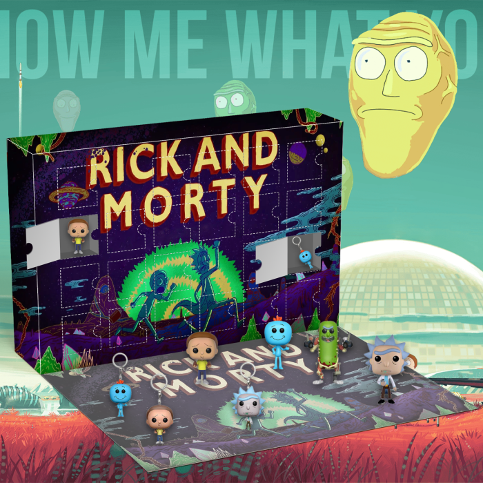 Rick and Morty Advent Calendar -- The One With 24 Little Doors