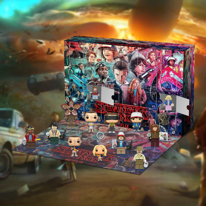 Stranger Things Advent Calendar -- The One With 24 Little Doors