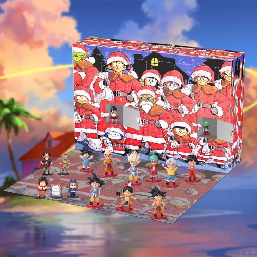 Dragon Ball Advent Calendar -- The One With 24 Little Doors