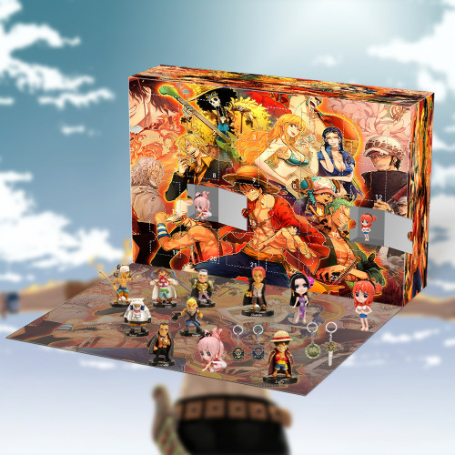 One piece Advent Calendar -- The One With 24 Little Doors