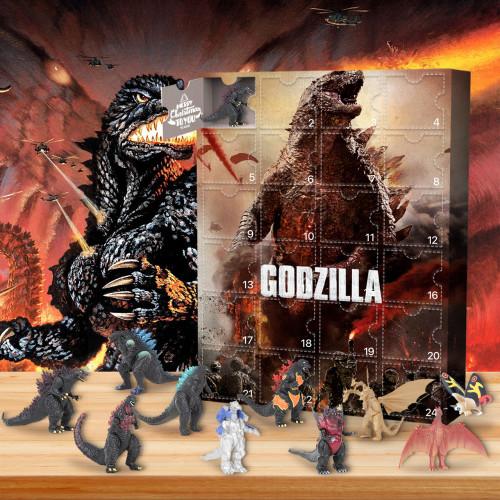 Godzilla Advent Calendar -- The One With 24 Little Doors