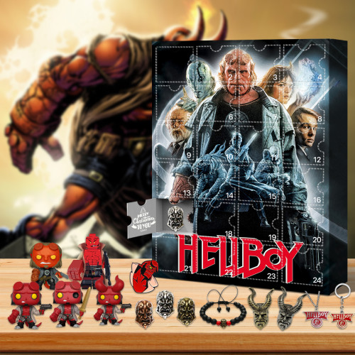 Hellboy Advent Calendar -- The One With 24 Little Doors