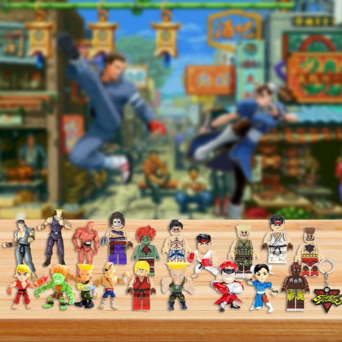 Street Fighter Advent Calendar -- The One With 24 Little Doors