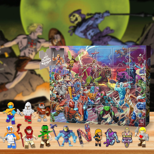 Masters of the Universe Advent Calendar -- The One With 24 Little Doors