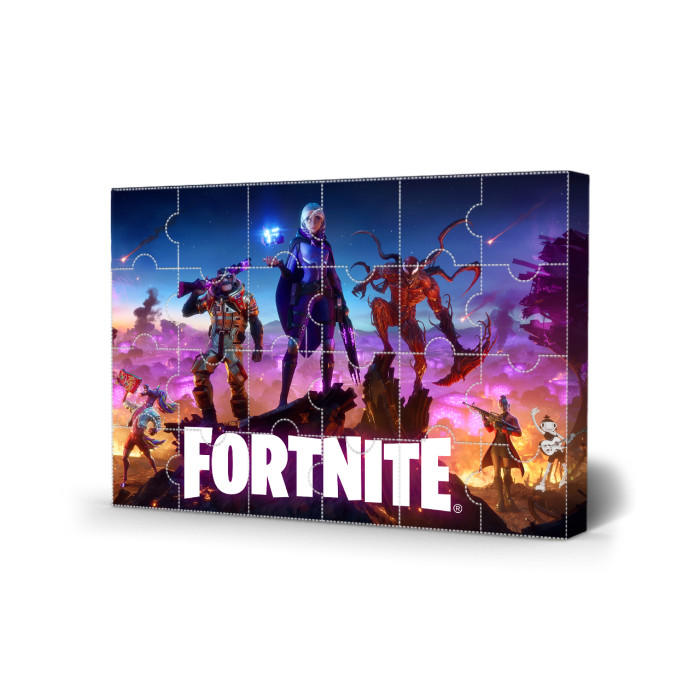 Fortnite Advent Calendar -- The One With 24 Little Doors