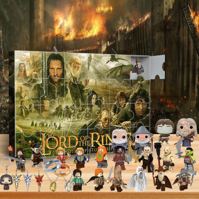 Lord of the Rings Advent Calendar -- The One With 24 Little Doors