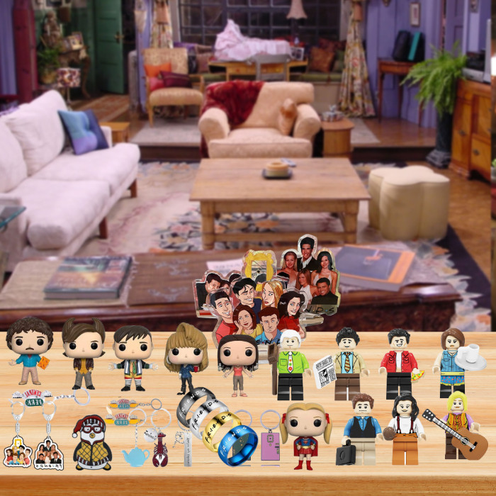Friends Advent Calendar -- The One With 24 Little Doors