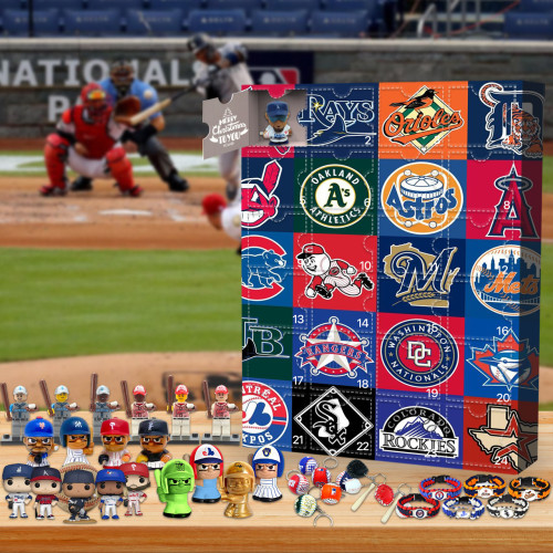 MLB Advent Calendar -- The One With 24 Little Doors